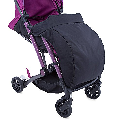 HOT Sale Universal Warm Winter Quilted Stroller Foot Muff Windshield Cover For Babies Winter Comfortable Protection For Infant (ฺBlack Color) (B Agile Car Seat Covers compare prices)