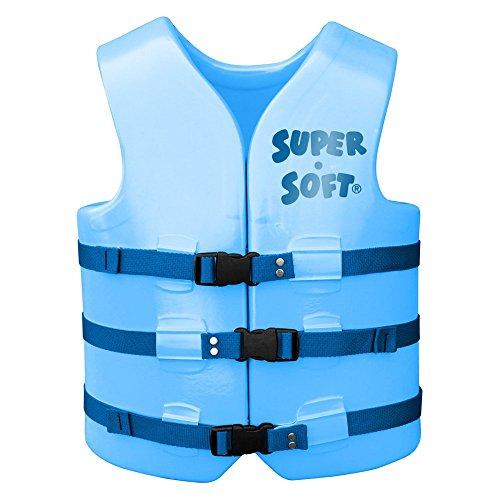 - TRC Recreation Ski Adult Texas Super Soft Vests, X-Small, Blue