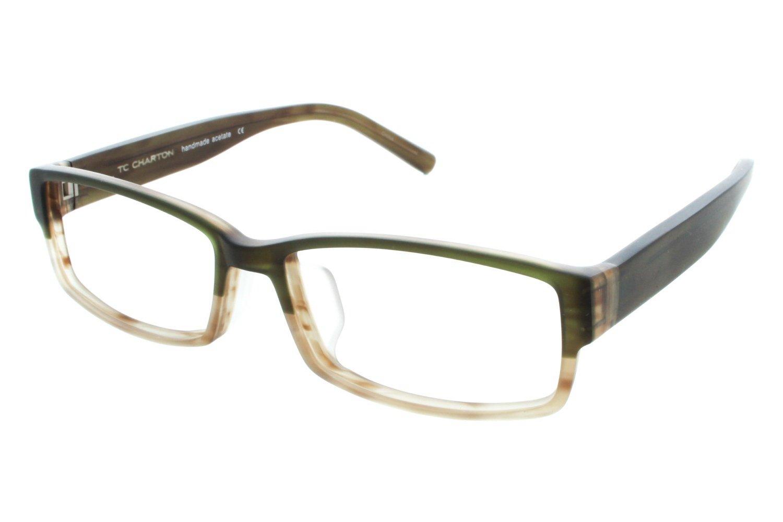 56c1bcd4d01 Amazon.com  TC Charton Eddie Designer Eyeglasses Frames  Beauty