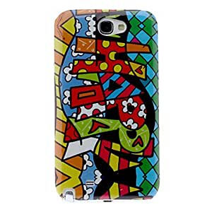 Happy Pattern Hard Case for Samsung Galaxy Note 2 N7100