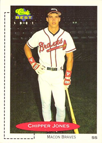 Baseball Classic 1991 (1991 Classic Best Minor League Baseball #268 Chipper Jones Pre-Rookie Card)