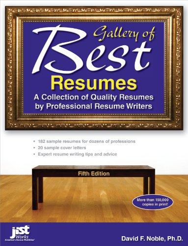 Amazon.com: Gallery of Best Resumes eBook: David F. Noble Ph. D ...