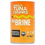 Oriental & Pacific Tuna Chunks in Brine (4x160g)