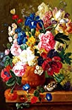 YChoice Educational Puzzle Kids Approx 1000 Pieces Paper Puzzle Learning Toy Fantastic Gifts(Flower)