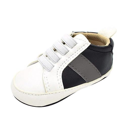 YWLINK Zapatos De NiñOs PequeñOs Zapatillas Deportivas Calzado Antideslizante Calzado De Cuna Casuales Recien Zapatillas Coincidencia De Colores Sole Suave: ...