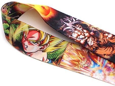 Dragon Ball Z Correa Para El Cuello De Dibujos Animados Lanyard Id Badge Holder Correa Para Tel/éfono M/óvil Key Chian School And Student Supplies///2