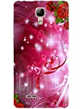 TREECASE Designer Printed Soft Silicone Back Case Cover For Micromax Bolt Selfie Q424