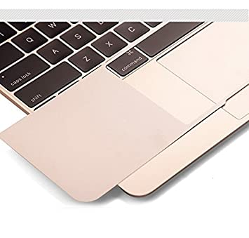 Gray 2016 Released, With Touch Bar Leze Palm Rest Cover Skin with Trackpad Protector for MacBook Pro 13-inch Model MLVP2LL//A /& MLH12LL//A