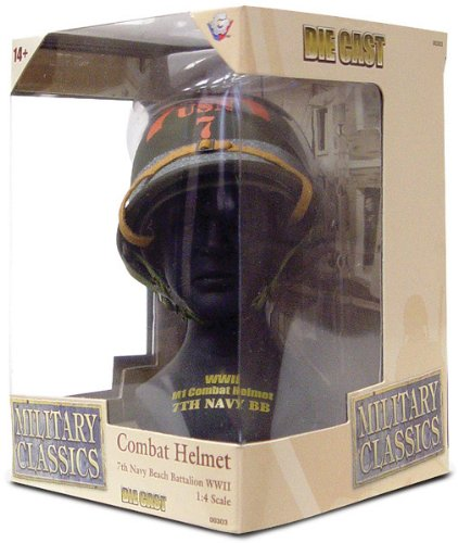 Gearbox Military Classics Combat 7th Navy Beach Batalion WWII Helmet by Gearbox