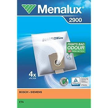 Amazon.com: Menalux 1002/5 Duraflow - Bolsas para aspiradora ...