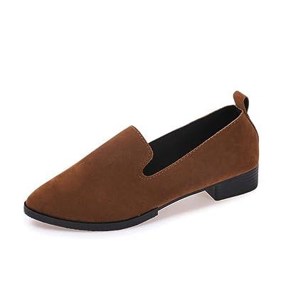 Frauen Flache Schuhe QinMM Auf Flachen Sandalen Casual Mode Damen Spitz Schuhe