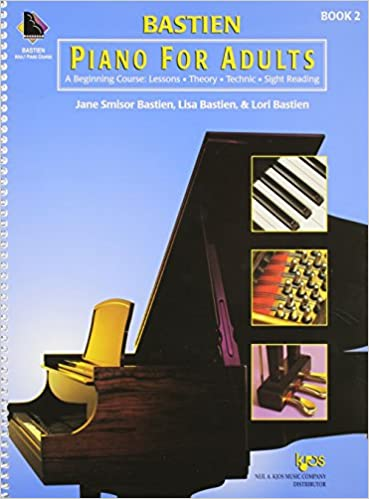 bastein piano for adults book 2 a beginning course lessons theory technic and sight reading