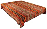 Splendid Exchange Southwestern Bedding Bonita Collection, Mix and Match, King Size Reversible Bedspread, Bonita Red and Yellow