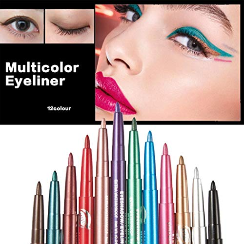 12 Colors Cosmetic Long lasting Eye Shadow