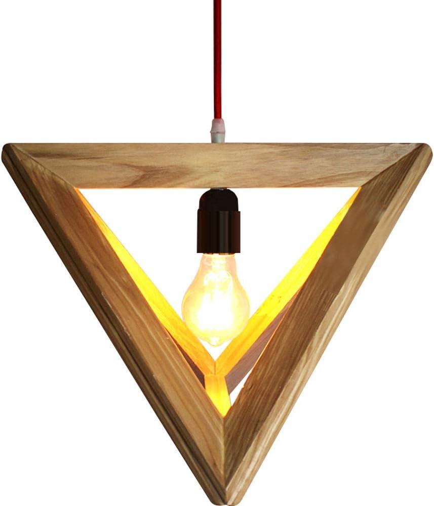 HSLJ1 Sureste asiático Estilo de suspensión de luz de madera prisma hueco colgante de la lámpara de techo de las lámparas creativas de traslado luminaria colgante moderna minimalista de Arte en comedo: