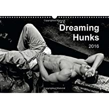 Dreaming Hunks 2016 2016: Handsome dreaming or sleeping nude or semi-nude males feature in 12 black and white artistic photographs.