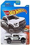 hot wheels ford f 150 - Hot Wheels 027084120134 2017 HW Trucks '17 Ford F-150 Raptor 129/365, White