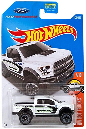 Hot Wheels 2017 HW Trucks 17 Ford F 150 Raptor 129 365