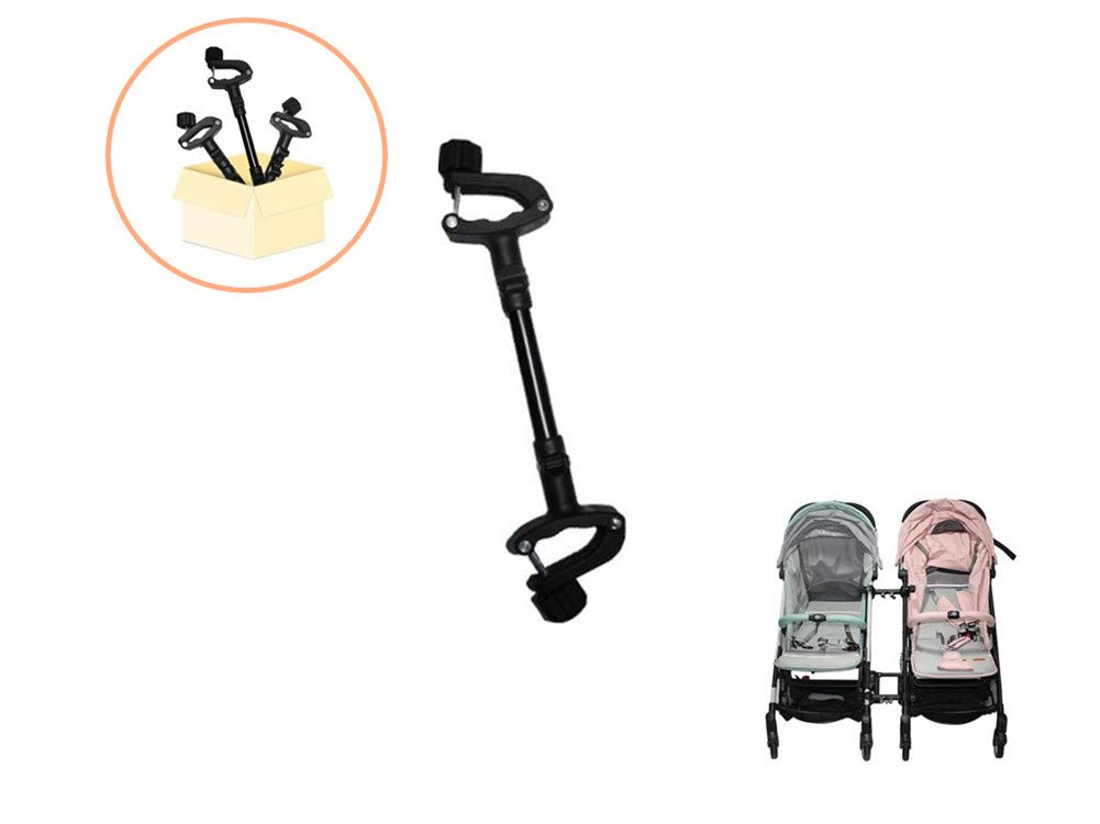 Twin Strollers Connectors for Baby Universal Turns Two Single Strollers into a Double Stroller Fits Most Strollers by 笑颜Saki