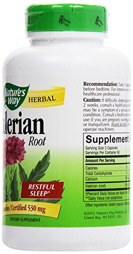 033674177082 - Nature's Way - Valerian Root, 530 mg carousel main 3