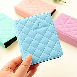 Shopizone Mini 36 Pockets Album for Instax Mini 8/9 / 9+ Accessory Travel Diary to Store Memories – Blue 51DaLWEevCL