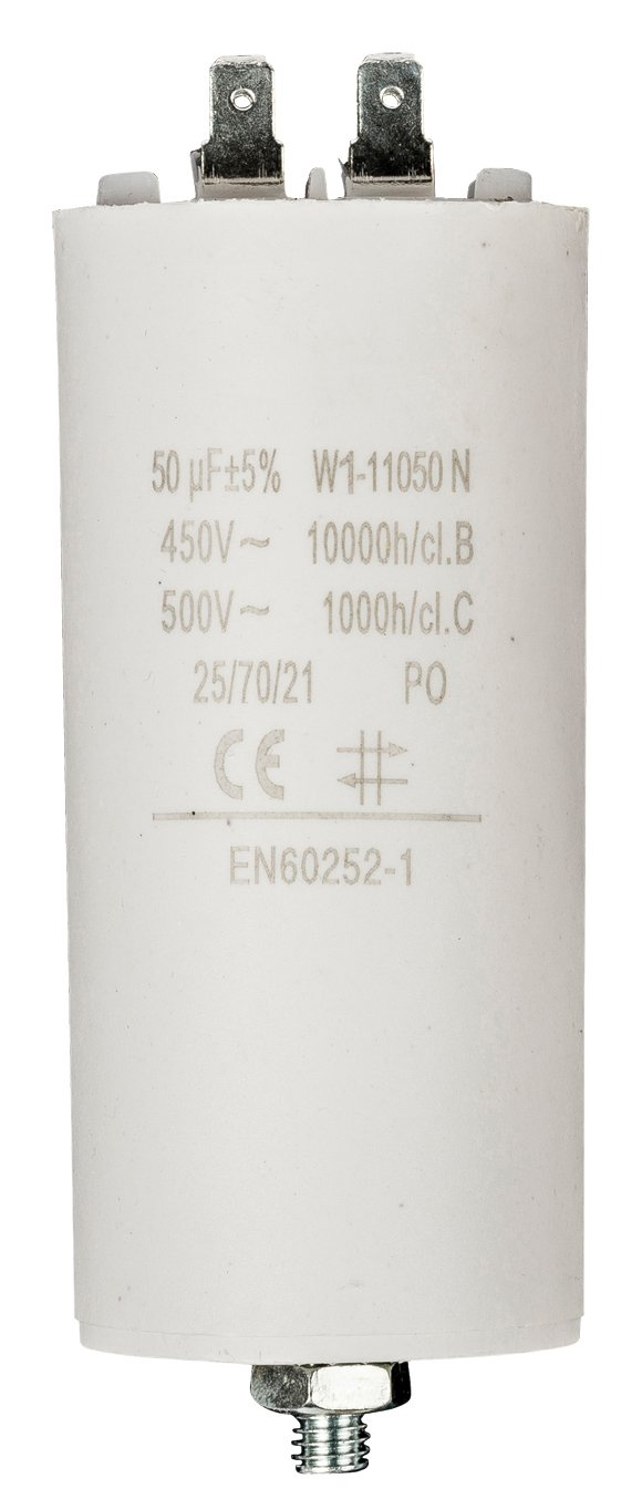 Fixapart W1-11000N Fixed capacitor Cilindrico DC Bianco condensatore