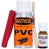 Kit para reparación de neumáticas de PVC Nauticol