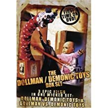 Dollman Demonic Toys Collection 3 DVD SET