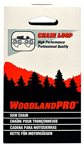 WoodlandPRO 18'' Chainsaw Chain Loop (20NK-72 Drive Links) 10 Pack by WoodlandPRO