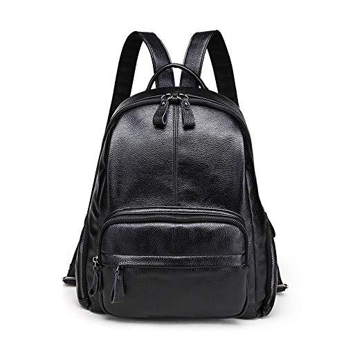 33x14x30cm Student in Zaino Simple ambiguity Wallet Handbag pelle Lady Donna Sqxz1S