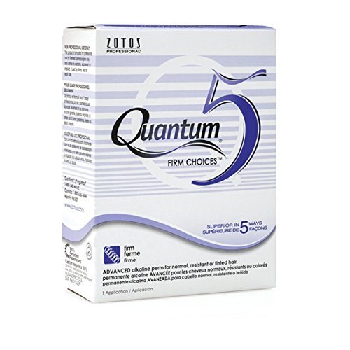 Zotos Quantum 5 Firm Choices Alkaline Perm for One Application (Quantum Firm Perm)