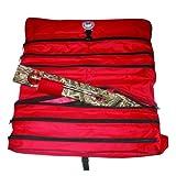 Beaver Dam New Tip-Up Carry Bag, Red/Black