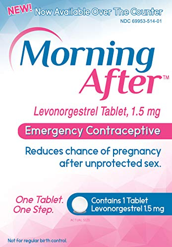 Morning AfterTM Levonorgestrel Tablet, 1.5 mg Emergency Contraceptive Pill (The Best Pill To Take)