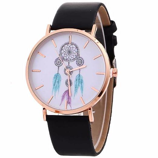 suitray Mujer Reloj De Pulsera, atrapasueños Impreso Mujeres Relojes Reloj analógico Cuarzo Hacha äufig Wind