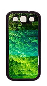 Good Vibes Unique Fashion Printing Phone case for samsung galaxy s3 for men - Green forest reflection