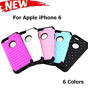 Cell Buddy Phone Cases for iPhone 6 Bling Crystal Decoration Design Detachable Protective Phone Case Cover New Arrive 2014 --- Color:Black