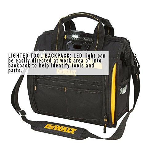 DEWALT DGL573 Lighted Technician's Tool Bag by DEWALT (Image #1)