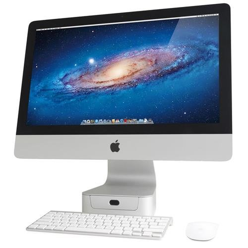 Rain Design 2 Pack mBase Elevating Stand for 21.5'' iMac/Apple Thunderbolt Display by Rain Design