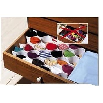 Schubladen Organizer Schubladenteiler Socken Einsatz Schrank Ordnung
