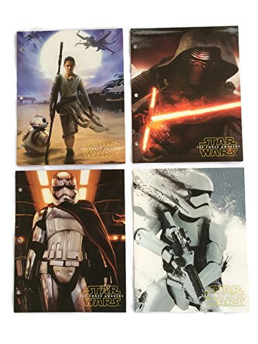 Star Wars Awakens School Folders