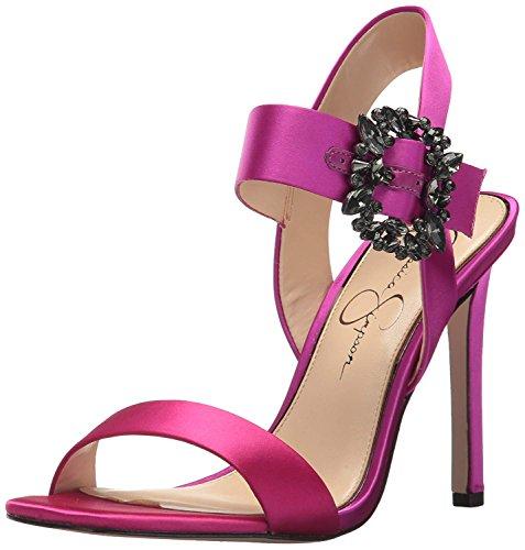 Jessica Simpson Women's BINDY Heeled Sandal, Passion Pink, 7 Medium US