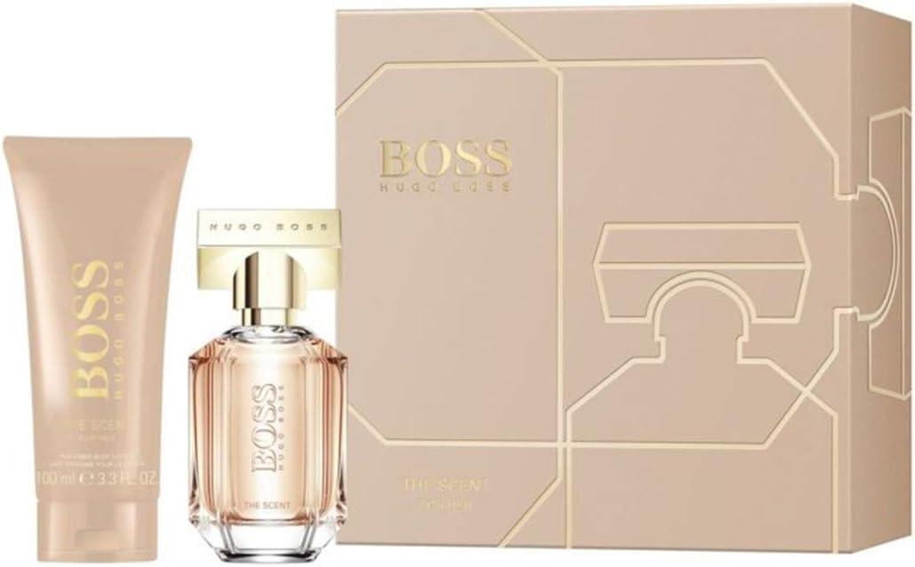 Giosal Hugo Boss The Scent Her - Kit de perfume para mujer (30 ml, incluye loción corporal de 100 ml): Amazon.es: Belleza