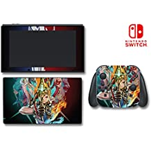 Xenoblade Chronicles 2 Rex RPG Video Game Vinyl Decal Skin Sticker Cover for Nintendo Switch Console System