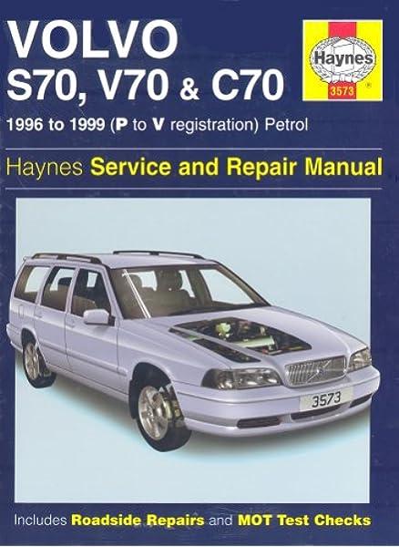 Volvo S70, C70 and V70 Service and Repair Manual (Haynes Service and Repair  Manuals): Jex, Robert M.: 0038345035739: Amazon.com: Books | Volvo S70 Engine Diagram Of 99 |  | Amazon.com