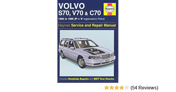 volvo s70 c70 and v70 service and repair manual haynes service and rh amazon com 1999 Volvo S80 Interior 1999 Volvo S70