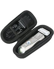 Khanka Duro Viaje Estuche Bolso Funda para Braun Series 7 7898cc 790cc-4 Afeitadora eléctrica con tecnología Wet&Dry