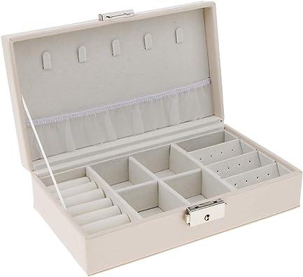 IPOTCH Caja Joyero Organizador de Joyerías Estuche para ...
