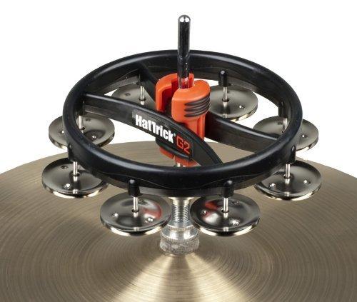 RhythmTech RT7420 Hat Trick G2 Single Row, Nickel Jingles by Rhythm Tech