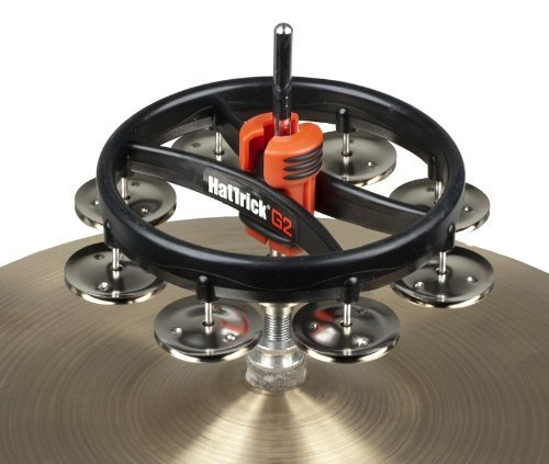 RhythmTech RT7420 Hat Trick G2 Single Row, Nickel Jingles