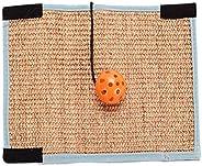Balacoo – Tapete para arranhador de gatos, conjunto de bolas para arranhador de gatos, tapete de sisal natural